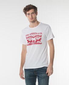 グラフィックセットインネックTシャツ