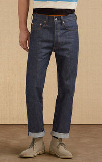 LEVI'S(R) VINTAGE CLOTHING/1976モデル/501(R)/リジッド/CONEDENIM/MADEINUSA/セルビッジ/13oz