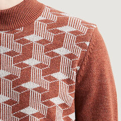 Levi's Vintage Clothing Turtleneck Sweater 56037: 0000 Cubes Rust