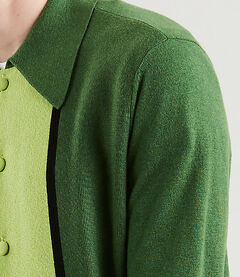 Levi's Vintage Clothing Long Sleeve Knit Shirt 56036: 0000 Greens
