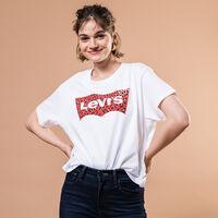 グラフィックTシャツ HSMK LEOPARD FILL WHITE