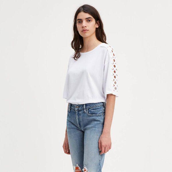 ボックスTシャツ BRIGHT WHITE