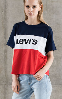 カラーブロックTシャツ