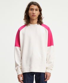 ラグランスウェットシャツ WHITE ALYSSUM