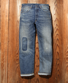 1955model 501® JEANS THUNDER CLAP セルビッジ