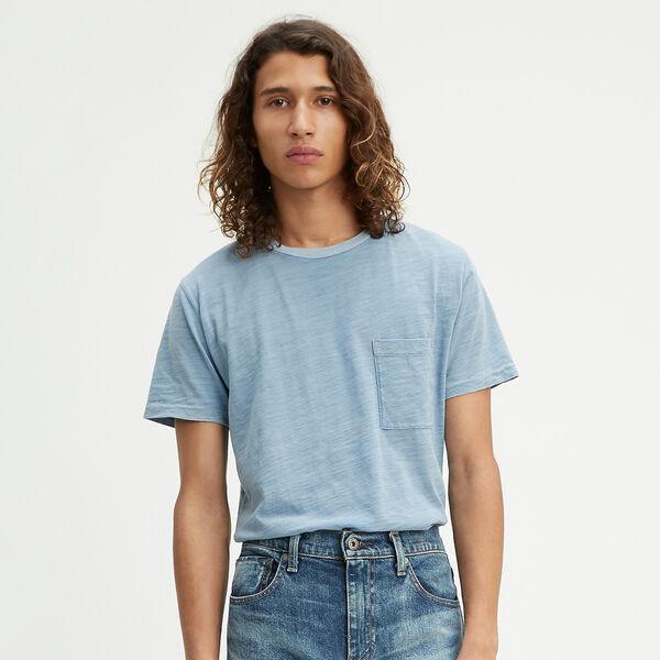 ポケットTシャツ FADED INDIGO