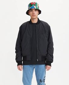 DISNEY リバーシブルボンバージャケット MINERAL BLACK