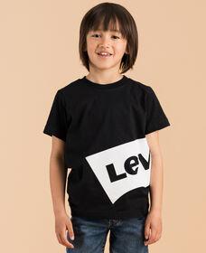 リラックスグラフィックTシャツ OVERSIZED BLACK (身長90-120㎝)
