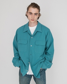 STYLED BY LEVIS SHIRT BLUE STORM