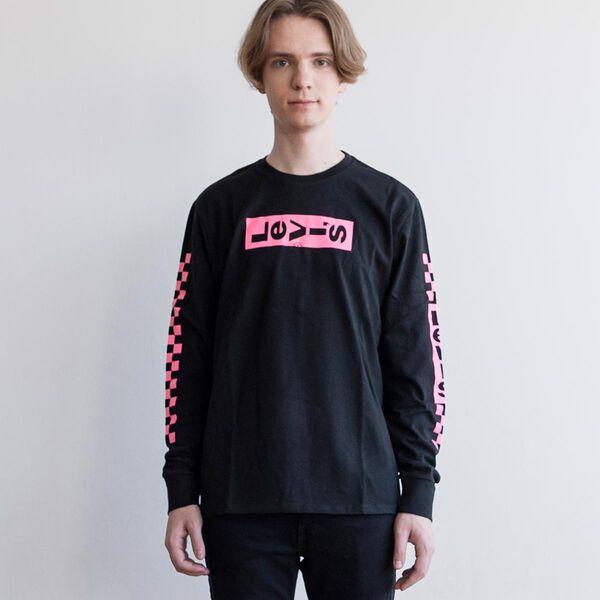 ロングスリーブTシャツ BOXTAB