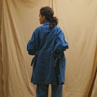 LR LINEMAN CHORE COAT NEW YEAR BLUE