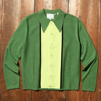 Knit Shirt GREENS MULTI STRIPE