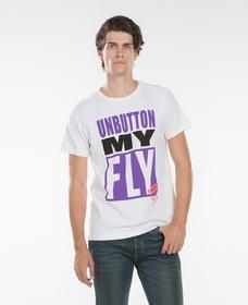 UNBUTTONMYFLYTシャツ