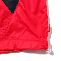カラーブロックウインドランナー CHINESE RED