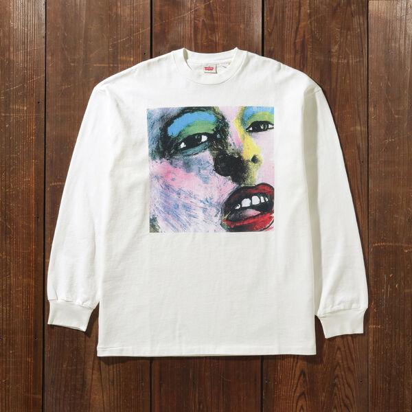 80'S LS GRAPHIC Tシャツ BUMMED