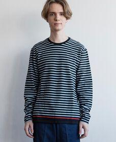 ロングスリーブTシャツ SPLISH BLACK
