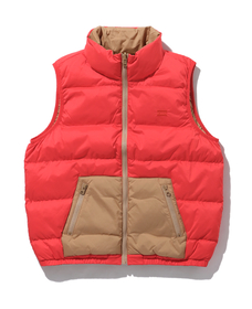 LYDIA REVERSIBLE VEST POPPY RED