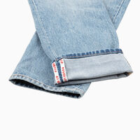 501® CROP SELVEDGE GAME OVER