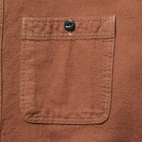 LEVI STRAUSS DELUXE シャツ NUT BROWN