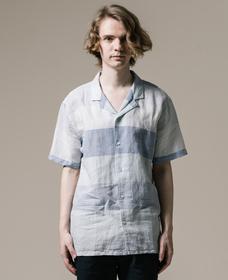 キューバシャツ BOYER MARSHMALLOW STRIPE