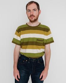 1940'S SPLIT HEM Tシャツ LVC GREEN ECRU