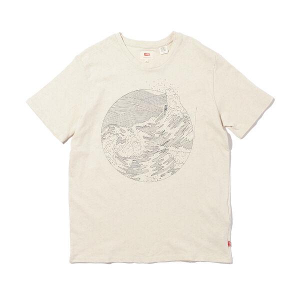 WELLTHREAD ポケットTシャツ SAND COTTON HEMP
