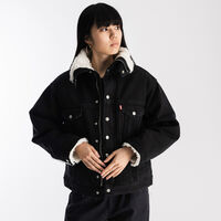DAD シェルパトラッカー PARKA BLACK BOOK TRUCKER