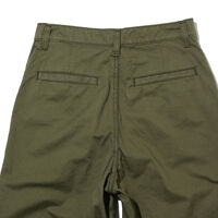 DAD CHINO OLIVE NIGHT FINE TWILL