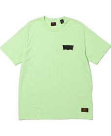 SKATE グラフィックTシャツ LSC PARADISE GREEN CORE BATWING BACK