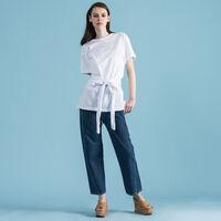 WRAP Tシャツ BRIGHT WHITE