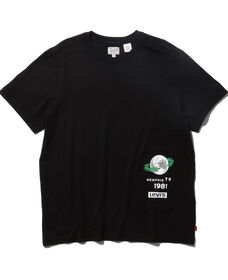 グラフィックTシャツ MINERAL BLACK X