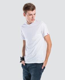 スリム2パッククルーネックTシャツ-ホワイト