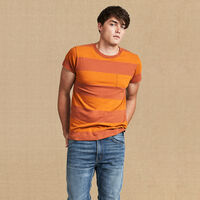 1950model/Tシャツ/Whiskey&Ryebrown