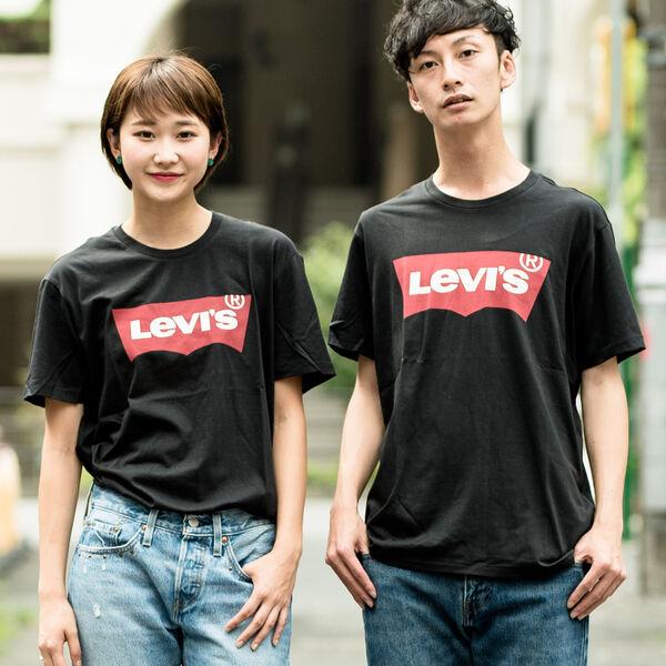バットウイングロゴTシャツ