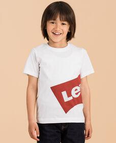 リラックスグラフィックTシャツ OVERSIZED WHITE (身長90-120cm)