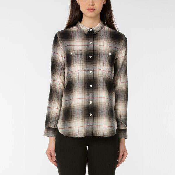 ボーフレンド2ポケットシャツ