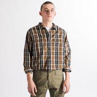 JACKSON ワーカーシャツ ARCHER SEPIA PLAID