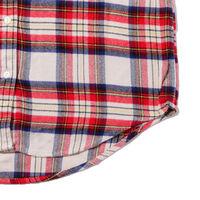チェックシャツ  POPPLE HERRINGBONE