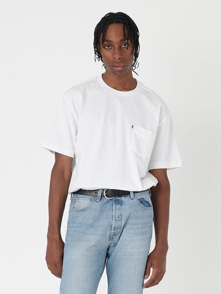MIU BOXY Tシャツ BRIGHT WHITE