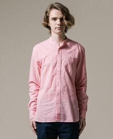 マンダリン 1ポケットシャツ CORAL BLUSH