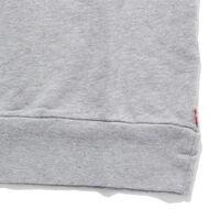 バットウィングロゴスウェットシャツ-グレー