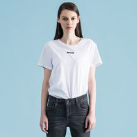 パーフェクトTシャツ LEVI'S TYPE CENTER WHITE