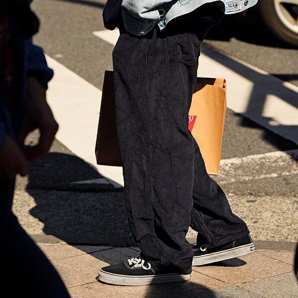 メリヤスくんカスタマイズモデル Silver Tab Corduroy Pants