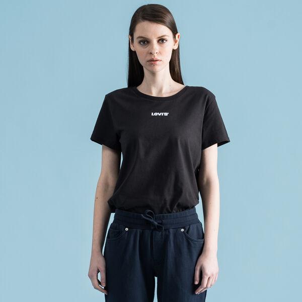 パーフェクトTシャツ LEVI'S TYPE CENTER BLACK