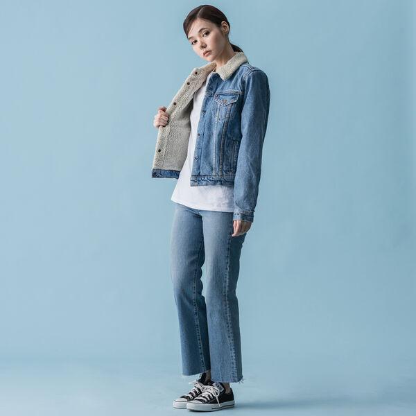 シェルパトラッカージャケット DIVIDED BLUE