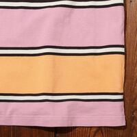 80'S WIDE Tシャツ ALLSORTS ORANGE PINK S