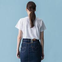 パーフェクトTシャツ HSMK BLUE WHITE GRAPHIC