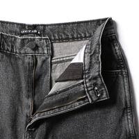 ルーズバギーフィット/ブラック/GARTH/13.81oz