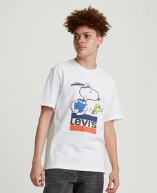リラックスフィットTシャツ SW RUNNING SNOOPY