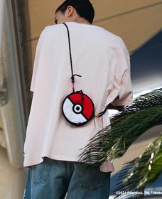 Pokemon Pokeball クロスボディバッグ